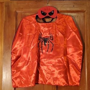 NEW Spiderman Cape with Mask
